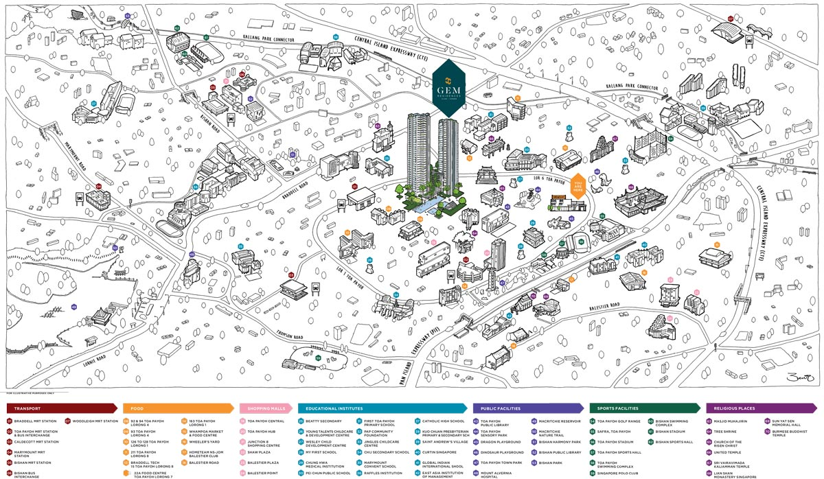 Gems-Location-Map