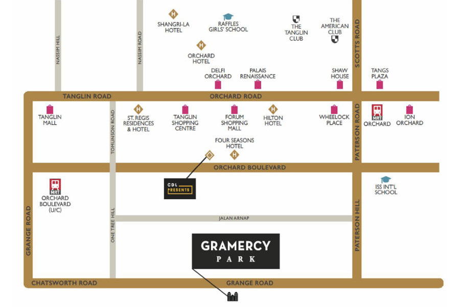 Gramercy-Park-Location-Map