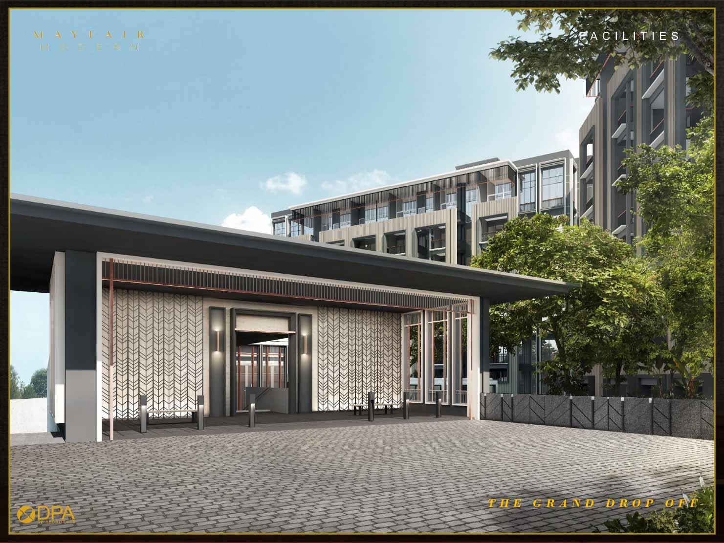Grand Drop Off facilities Mayfair Modern