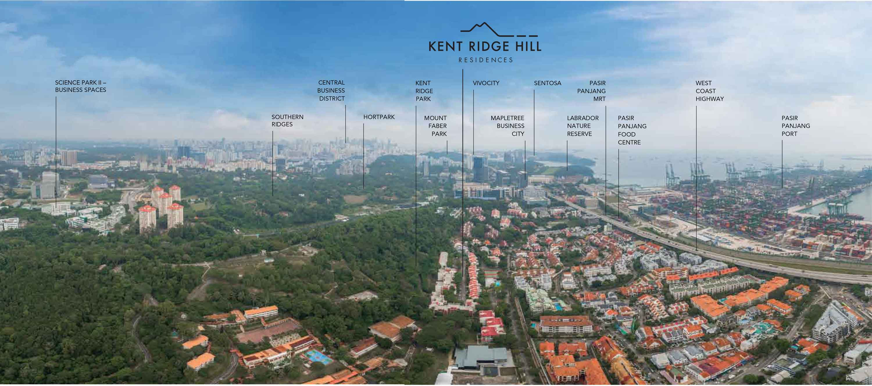Panoramic City View of Kent Ridge Hill Residences