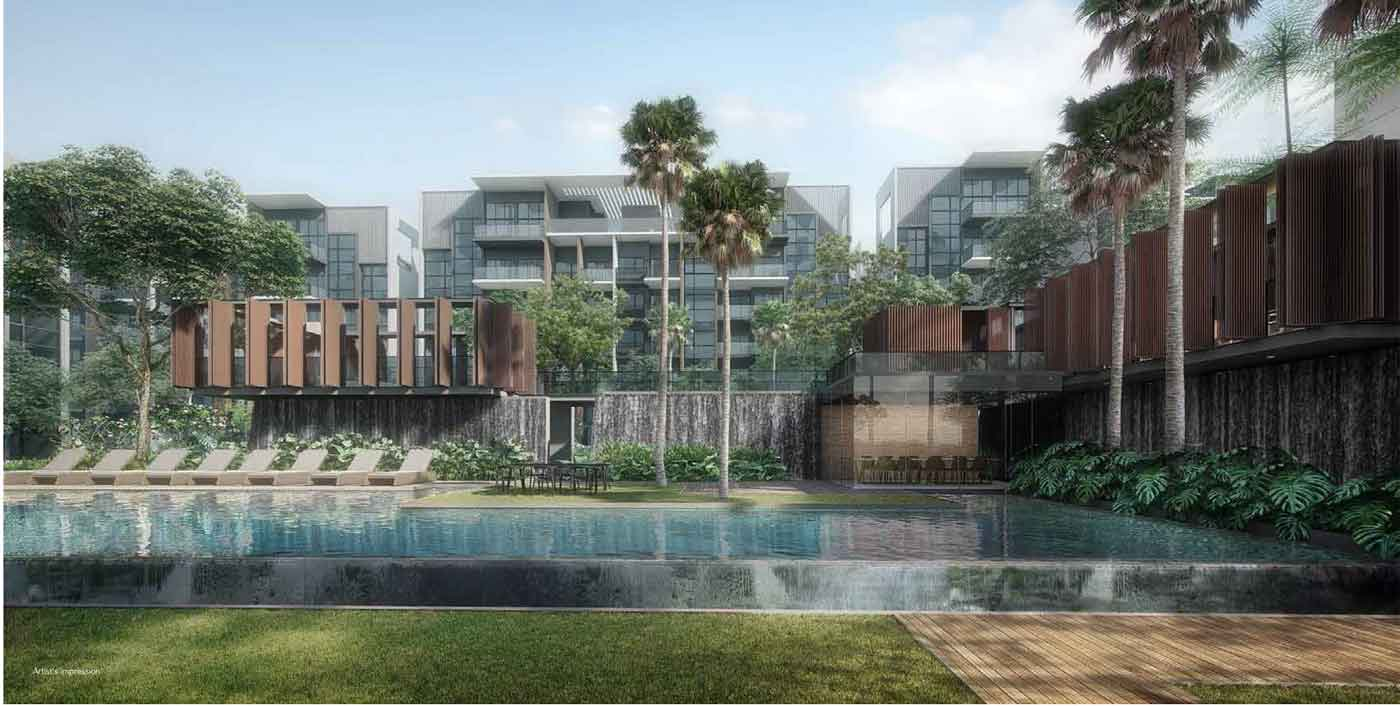 Waterfall Canyon Kent Ridge Hill Residences Facilities