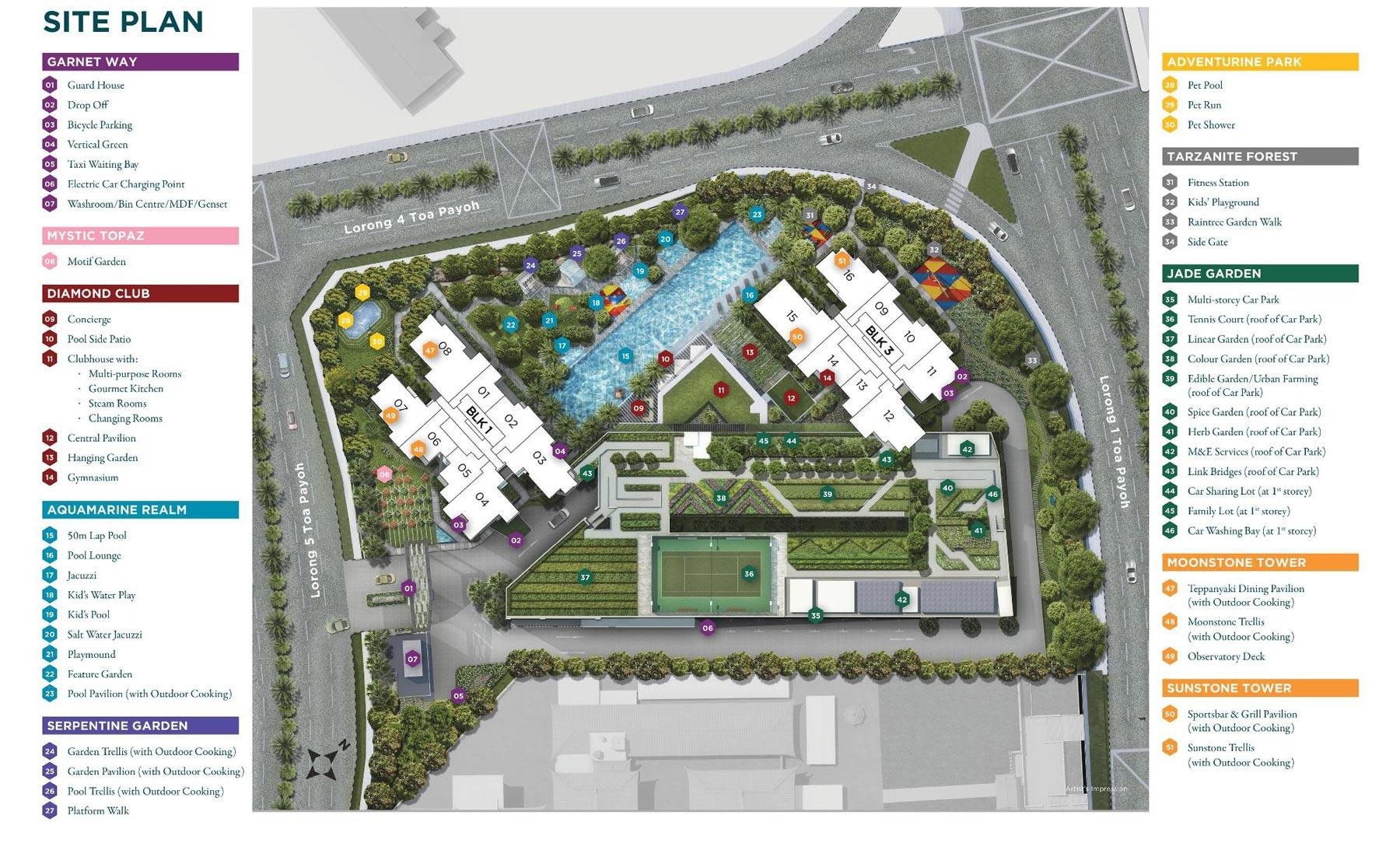 gem-residences-site-plan