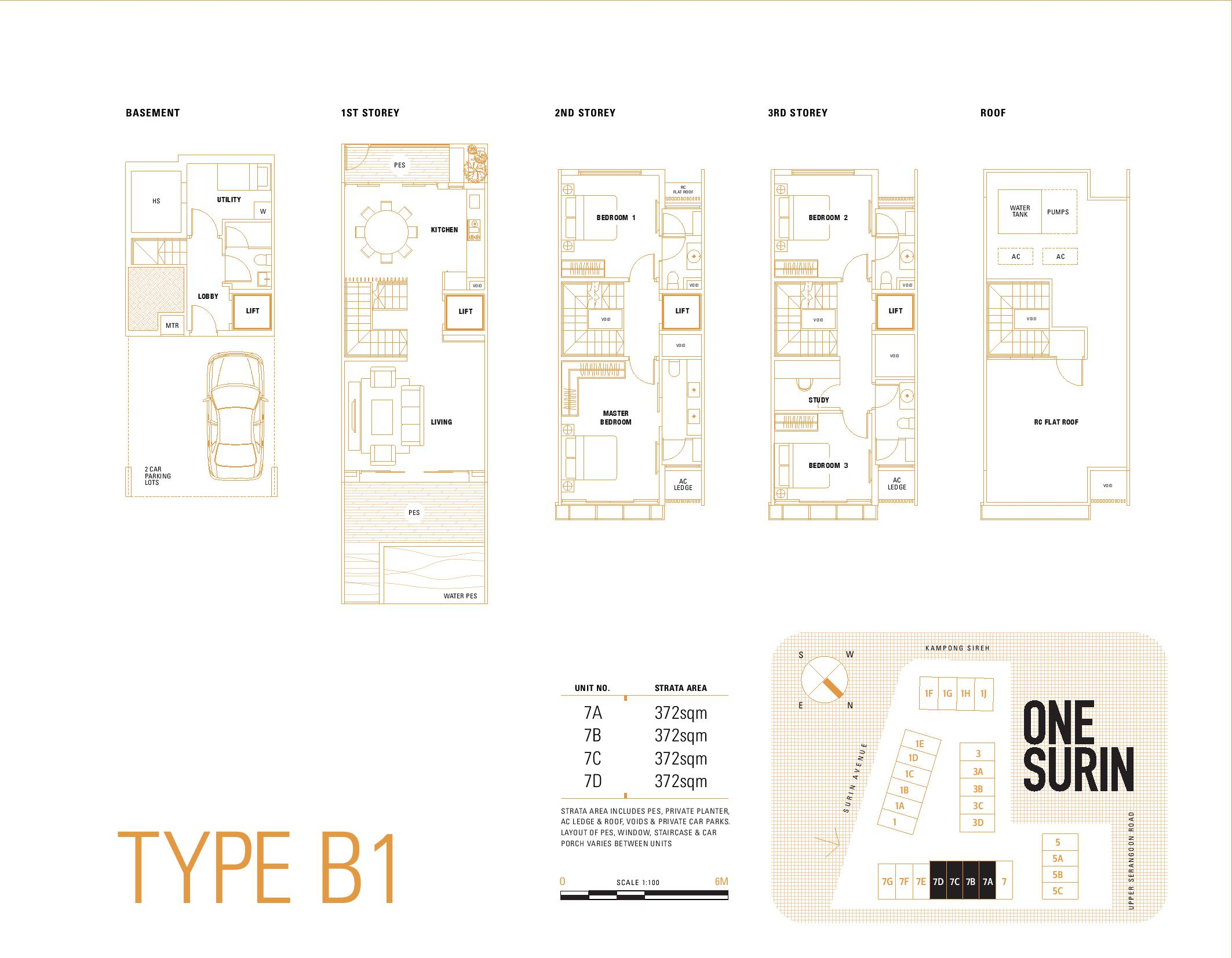 one-surin-floor-plan
