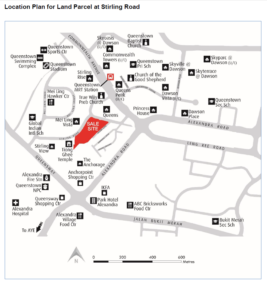 sterling residences location map