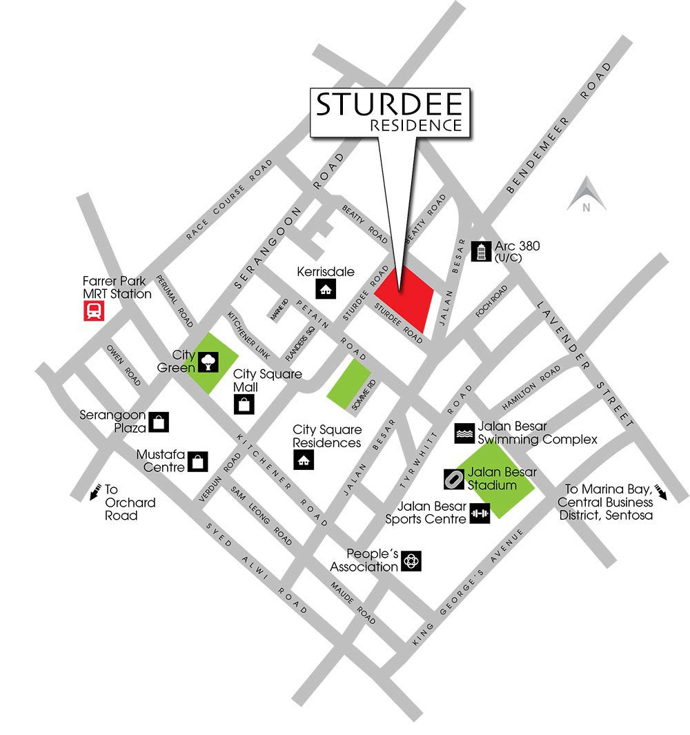 sturdee-residences-location-map