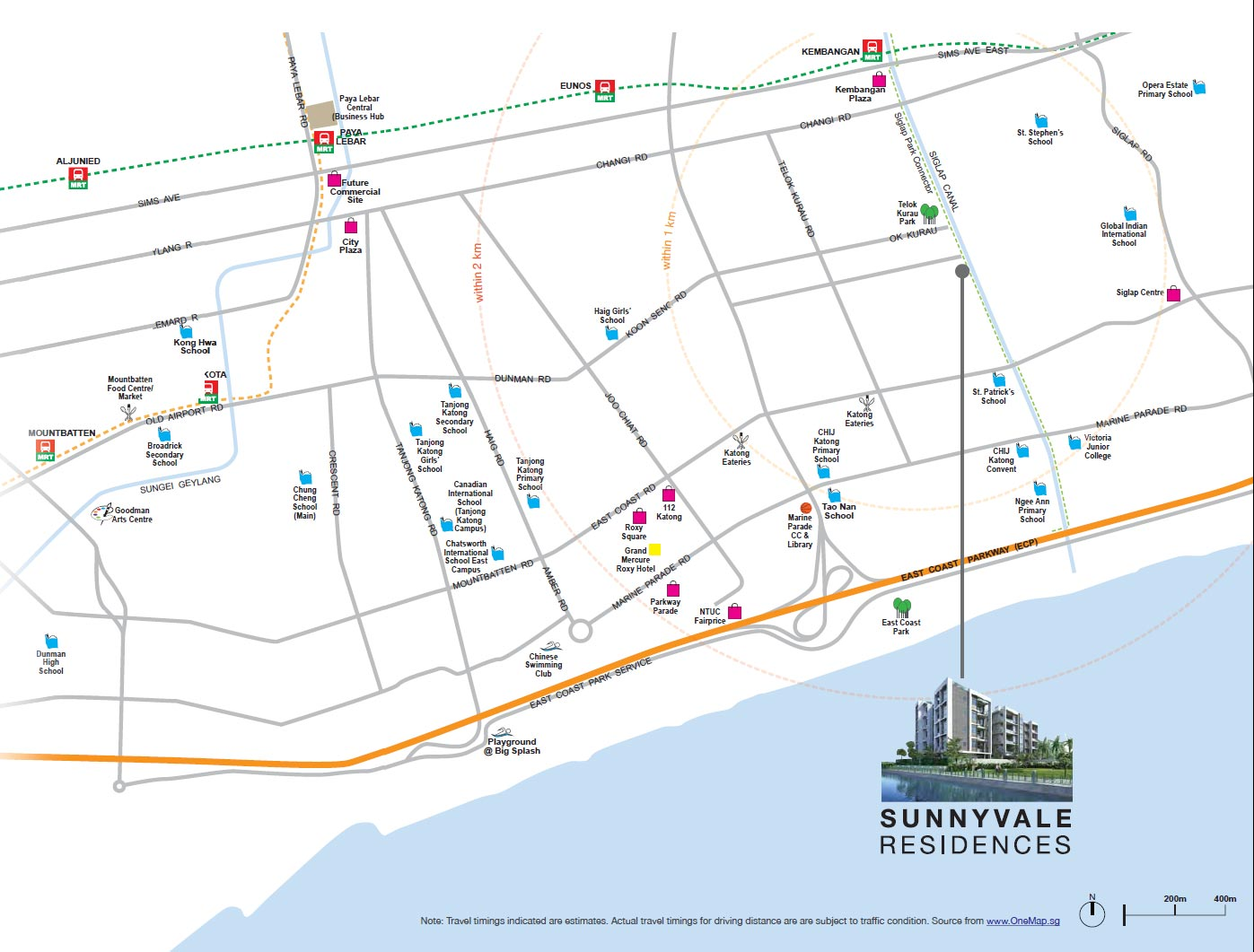 sunnyvale-residences-location-map