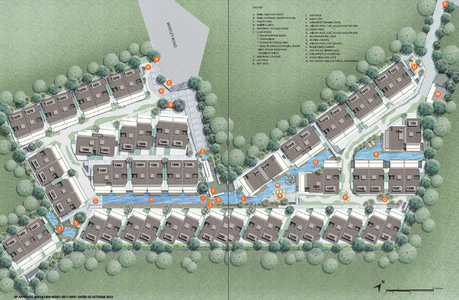 the-whitley-residences-site-plan